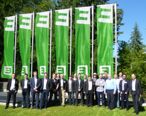 Participants from the workshop at the premises of Energie Steiermark in Graz