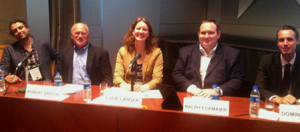 Members of the smart grid security panel at ISGT
